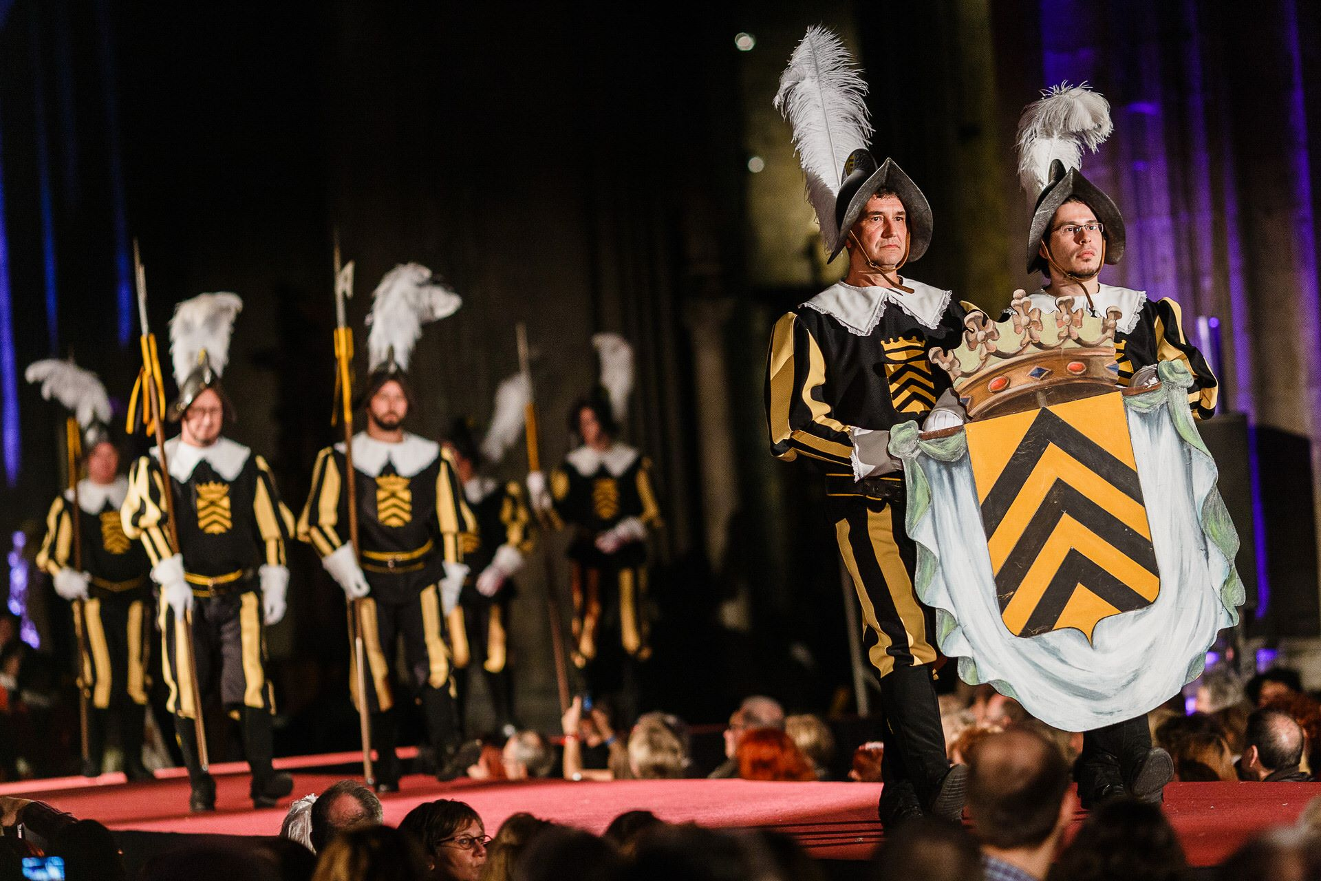 Les Costumes de la Procession dans tous leurs états