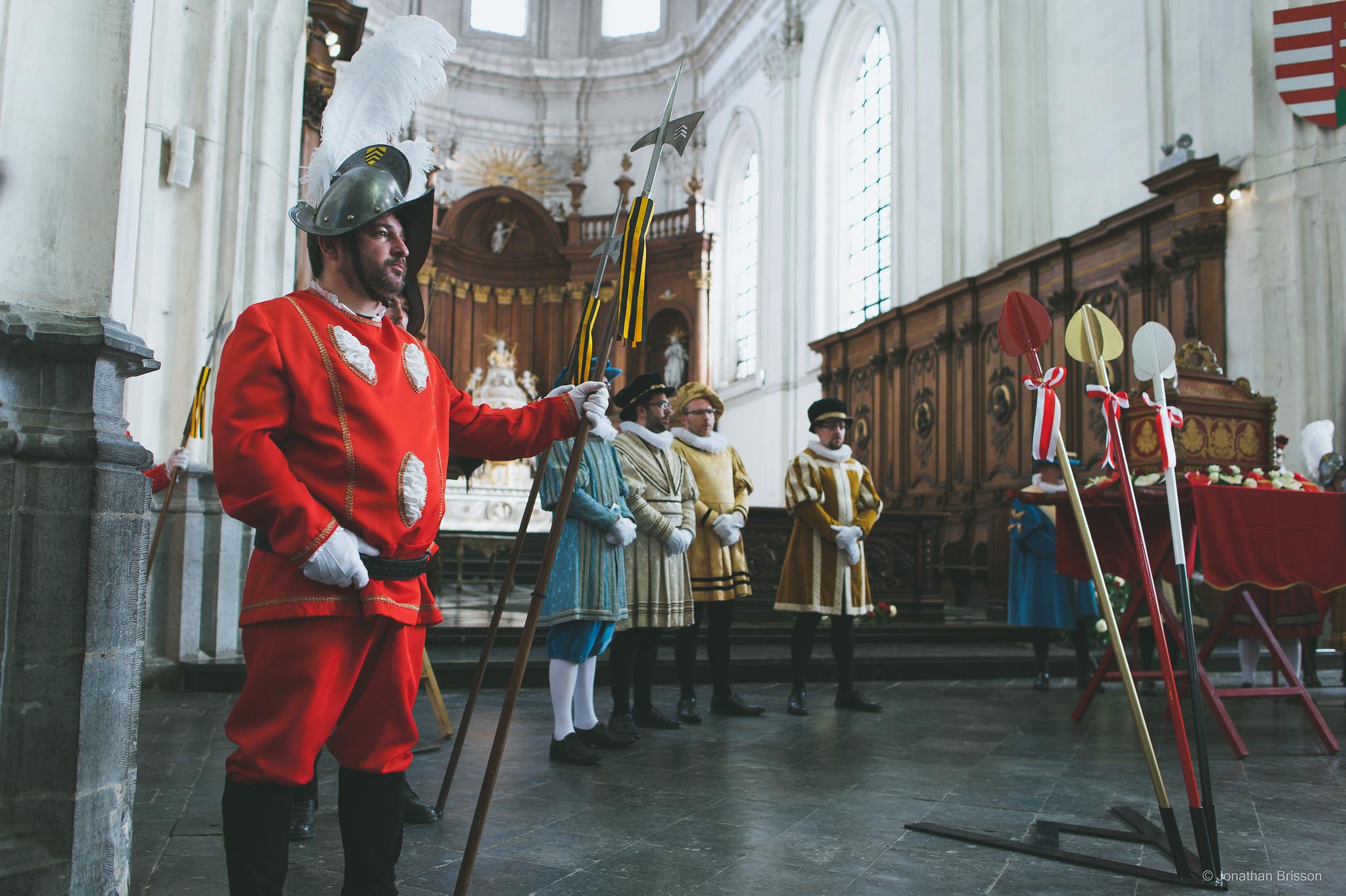 Escorte de Monseigneur saint Georges