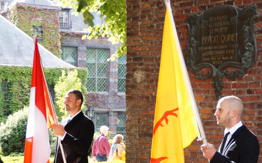 Fêtes de Wallonie : hommage aux littérateurs montois